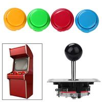 11 Pcs Joystick Push Buttons DIY Kits Parts For Arcade Game Console Machines Professional Game Joystick