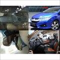 Para honda city 2015 wi-fi car dvr gravador de vídeo de condução instalação escondida FHD 1080 P Traço cam Novatek 96655 carro preto caixa