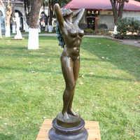 Récupération corps art sculpture bronze sculpture fonctionne de art décoration design décoration cadeaux d'affaires Ameublement