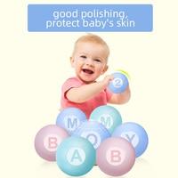 5.5cm 100pcs Intelligent Letter Soft Macaron Pit Ocean Balls For The Pool Baby Plastic Inflatable Balls Toys For Children