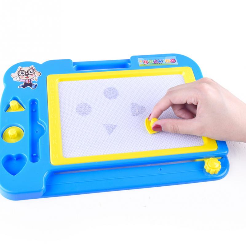 Children Magnetic Gift Doodle Pad Drawing Board Sketch Pad Writing Slate Kids Educational Toys