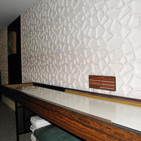 Modern Self Adhesive Wallpaper 3D Elasticity Grain Foam Brick DIY Wall Stickers Self Adhesion Anti Collision