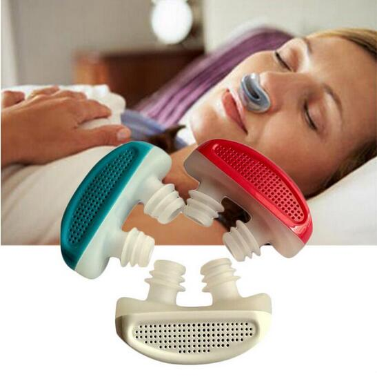 Professional Sale Pm2.5 Patent Cpap Snoring Device Anti Snore Apnea Ventilation Nose Breathing Apparatus Nasal Congestion Clean Air Purifier