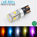 Car LED T10 T15 W16W W5W 194 501 168 175 AutomotiveLight Lamp CANBUS 12V 24V 10W 250LM Red Blue White Yellow Amber Purple Bulbs