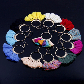 Handmade Tassel Earrings 2