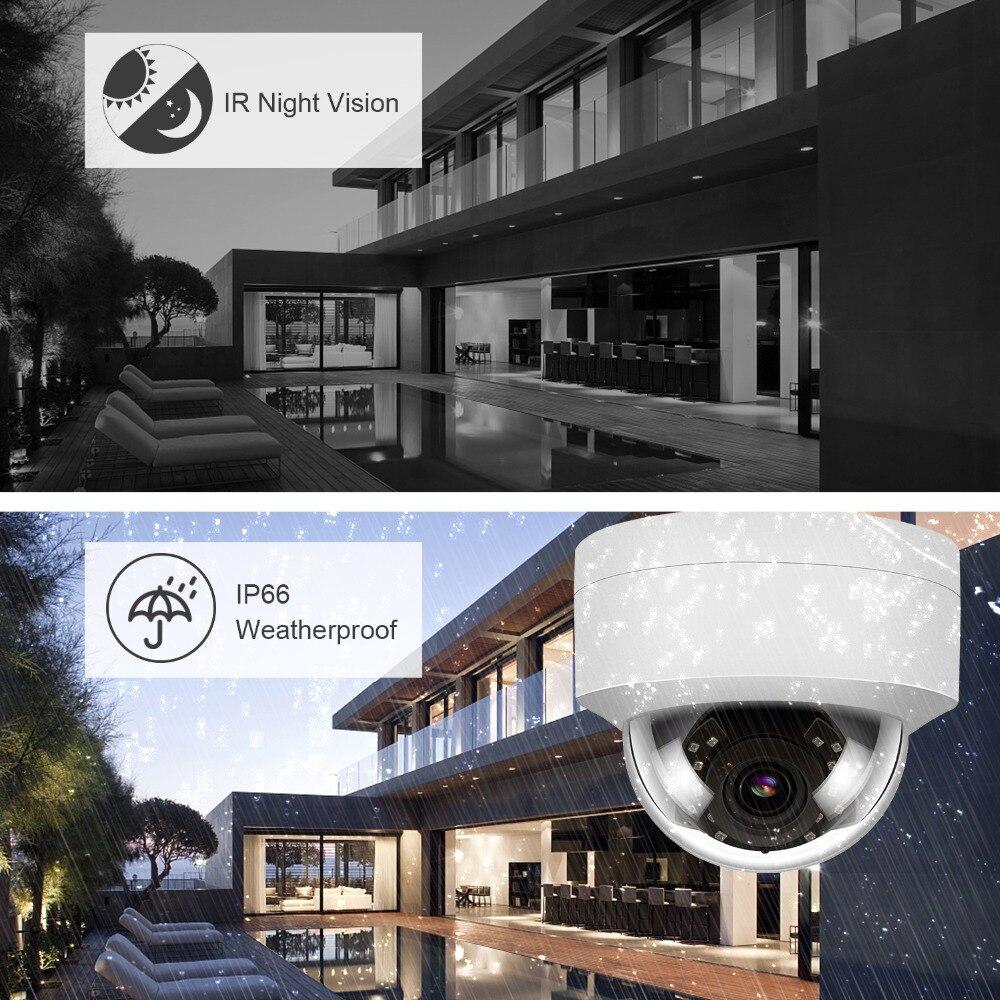 Unilook (hikvision compaible) 3mp dome poe câmera