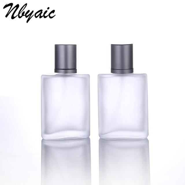 Nbyaic1Pcs30ml50ml100ml Frosted Glass Empty Bottle Sprayable Enough Spray Bottle Odor Travel Size Portable Reuse Perfume Bottles