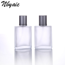 Nbyaic1Pcs30ml50ml100ml חלבית זכוכית ריק בקבוק Sprayable מספיק ריסוס בקבוק ריח נסיעות גודל נייד שימוש חוזר בושם בקבוקים