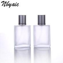 Nbyaic1Pcs30ml50ml100ml متجمد الزجاج زجاجة فارغة قابلة للرش بما فيه الكفاية زجاجة رذاذ رائحة السفر الحجم المحمولة إعادة استخدام زجاجات عطر