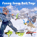 2016 Winter Outdoor Kids Toys Snow Ball Launcher Winter SnowBall Family Fights Game Toys Pistol Gun Nice Gifts for Kids