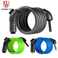 Anti Theft Bicycle Lock For MTB Road Security Password Steel Wir Bicycle Lock Outdoor Sports Bicycle