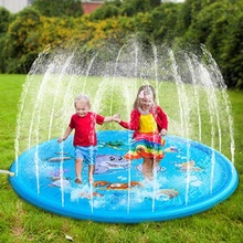 100 CM Summer Children's Baby Play Water Mat Games Beach Pad