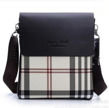 2015 Designer Brand Men messenger bags Soft PU leather Cross body bag for  man Casual Men s shoulder bag Business travel bag 5f89eebddc7d4
