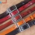 Cinto de couro genuíno cinta mulheres decoração da moda pin fivela casuais todo o jogo do couro cinto fino cintura de calças cinto PB287