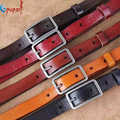 genuine leather belt strap women casual all-match cowhide thin belt decoration fashion pin buckle waist of trousers belt PB287