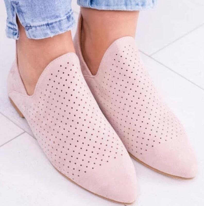 Dames Chaussure Femmes Bout Black Gladiateur Mujer Détouré Pointu blue Chaussures A11128 Printemps Femme Filles pink Zapatos Plat Appartements Casual xqCz7Y