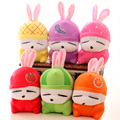 20cm 6pcs /set  Fruit MashiMaro Plush Stuffed Rabbit  Keychian  Toy