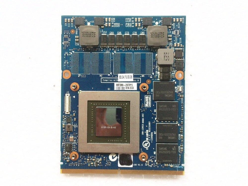 GTX 860m 2GB MXM3 0b Graphics VGA Card N15P GX B A2 J0M0K 0J0M0K CN 0J0M0K
