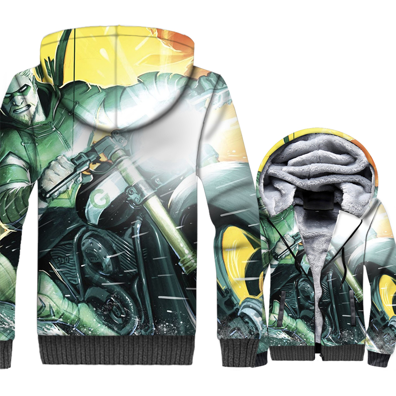 Breaking Bad Hoodies Men Heisenberg Jackets 3D Cool Sweatshirt Winter Thick Fleece Warm Zipper Hipster Coat Hip Hop Streetwear
