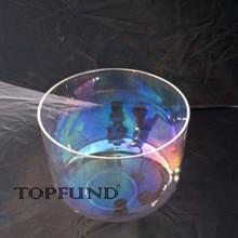 TOPFUND космический свет Чакра кварцевый Поющая чаша 10 «евро и США местная доставка