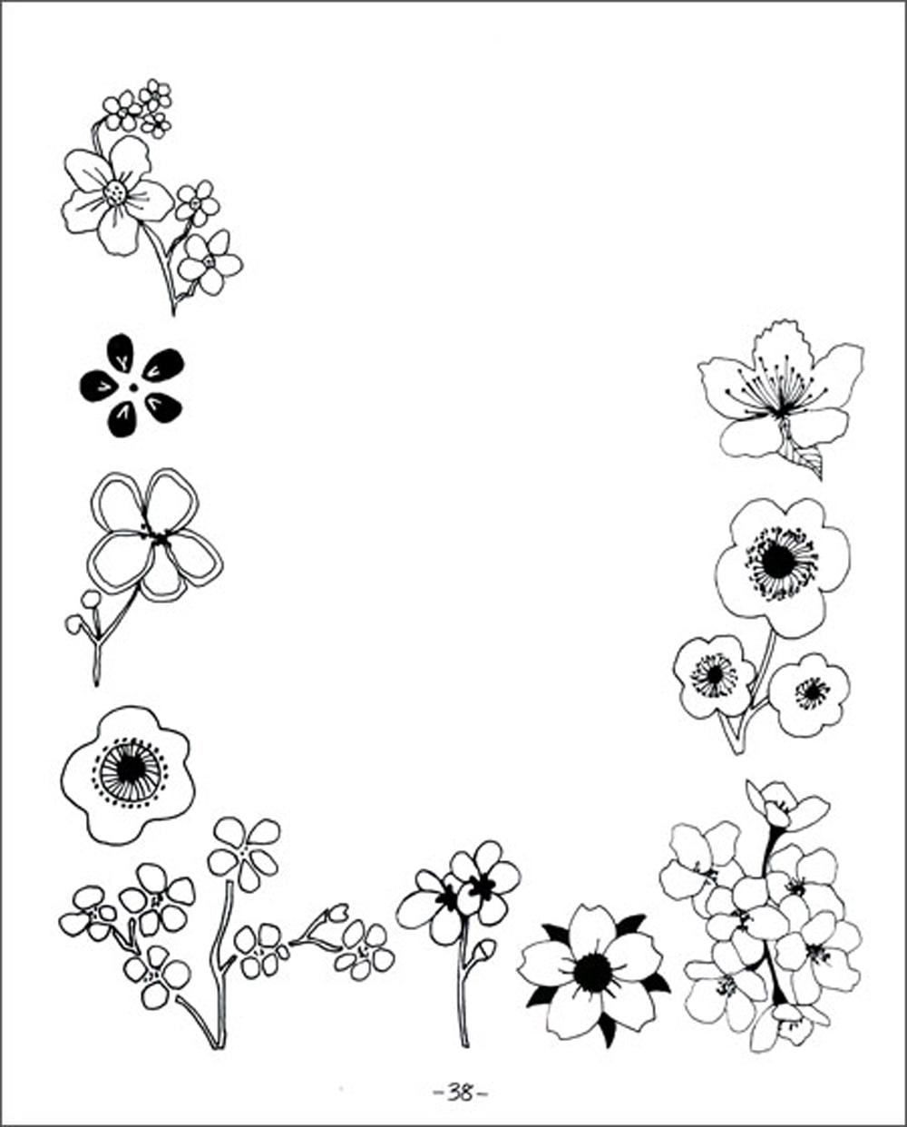 20 maneras para dibujar un tulipán: y 44 otras flores fabulosas
