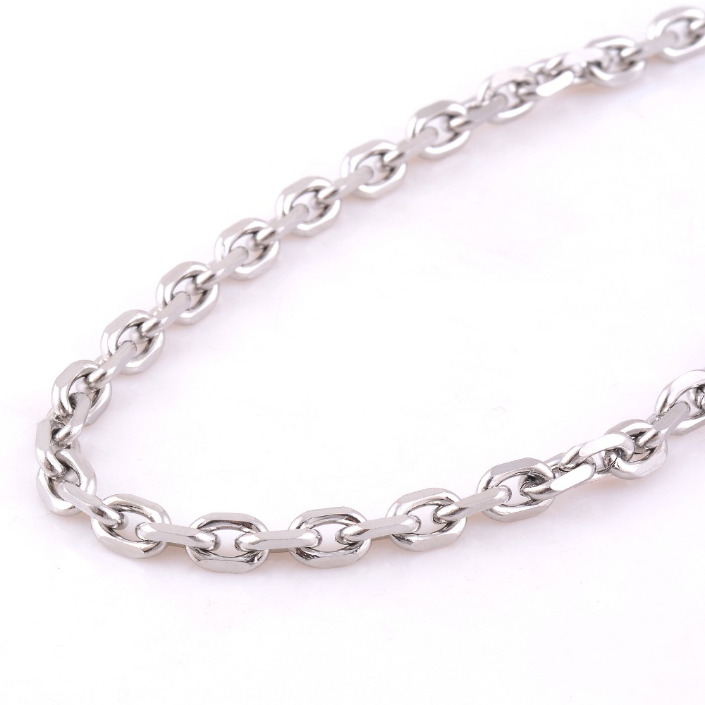 Ширина 1,6 мм/2 мм/2,4 мм/3 мм/4 мм/5 мм нержавеющая сталь Роло цепи высокого качества звено ожерелье цепь