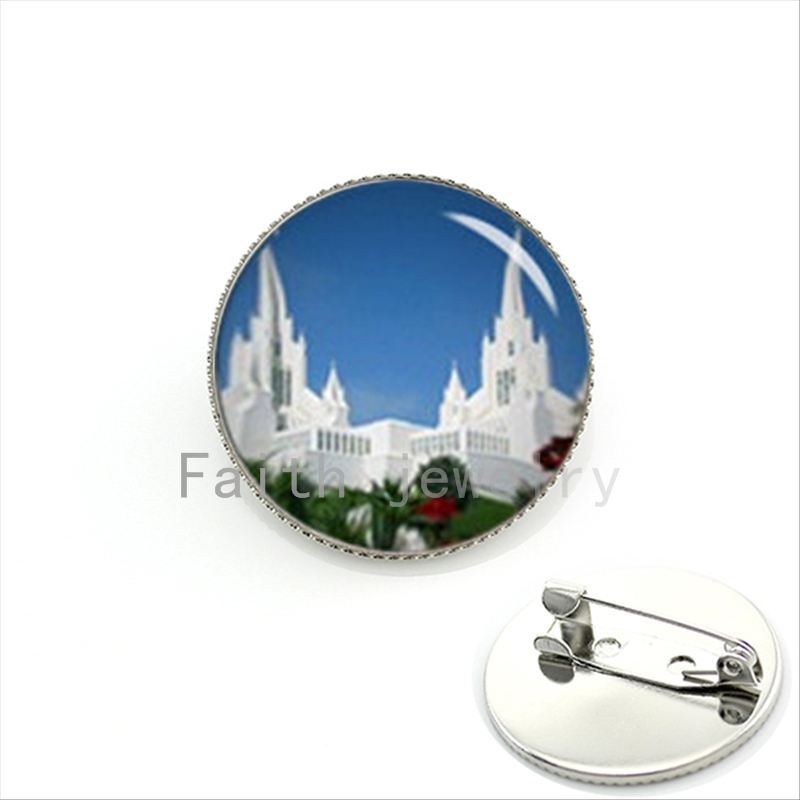 Novelty Interesting Brooch Jewelry For Time And All Eternity Lds Mormons Handmade Choose U Own Temple Pins For Believer Kc396 Exquisite Craftsmanship; Jewelry Sets & More Brooches