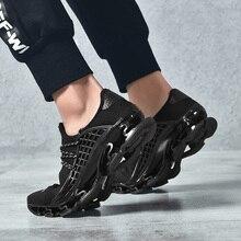 OZERSK trampki męskie buty na co dzień ostrze trampki amortyzacja odkryte buty sportowe lekkie trenerzy letnie Chaussures Pour Hommes