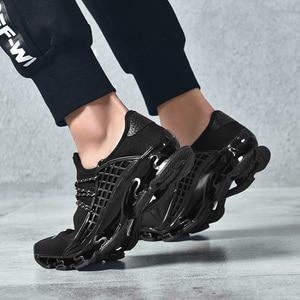 Image 1 - OZERSK trampki męskie buty na co dzień ostrze trampki amortyzacja odkryte buty sportowe lekkie trenerzy letnie Chaussures Pour Hommes