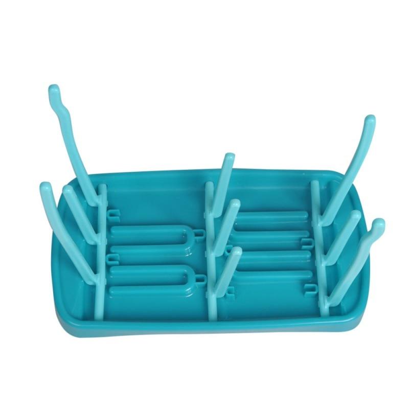Kids Food Feeding Bowl Bottle Tableware Drying Rack Baby Suction Cup Bowl Slip-resistant Temperature Sensing Spoon Set