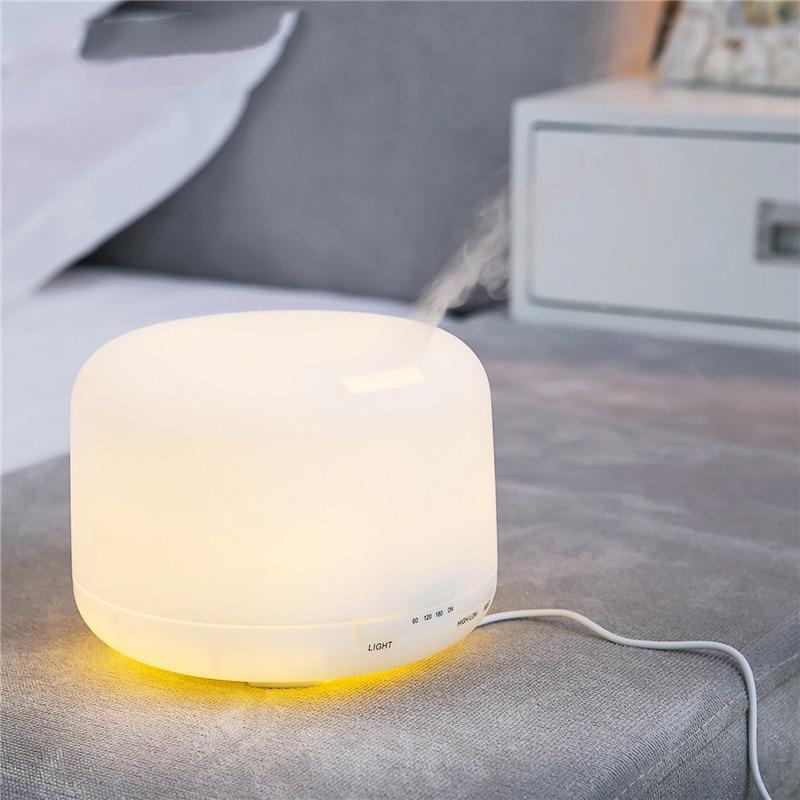 GRTCO 500ml 15 Colors Changable LED Light Essential Oil Aroma - Կենցաղային տեխնիկա - Լուսանկար 4