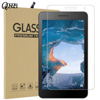 Qosea For Huawei MediaPad T3 8 0 Tempered 9H Glass 2 5D Arc Clear Scratch Resistant