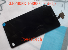 Original Elephone P9000 Front Panel Touch Glass Digitizer Screen with LCD display for p9000 Cell Phone FREE SHIPPING