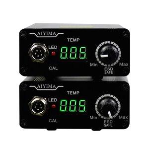 Image 2 - 110V 220V T12 Digital Soldering Iron Station Temperature Controller EU Plug+T12 Handle+T12 BCM2 and T12 K Tips