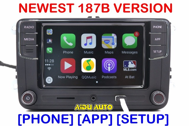 carplay desai rcd330 plus 6 5 mib radio cd player for. Black Bedroom Furniture Sets. Home Design Ideas