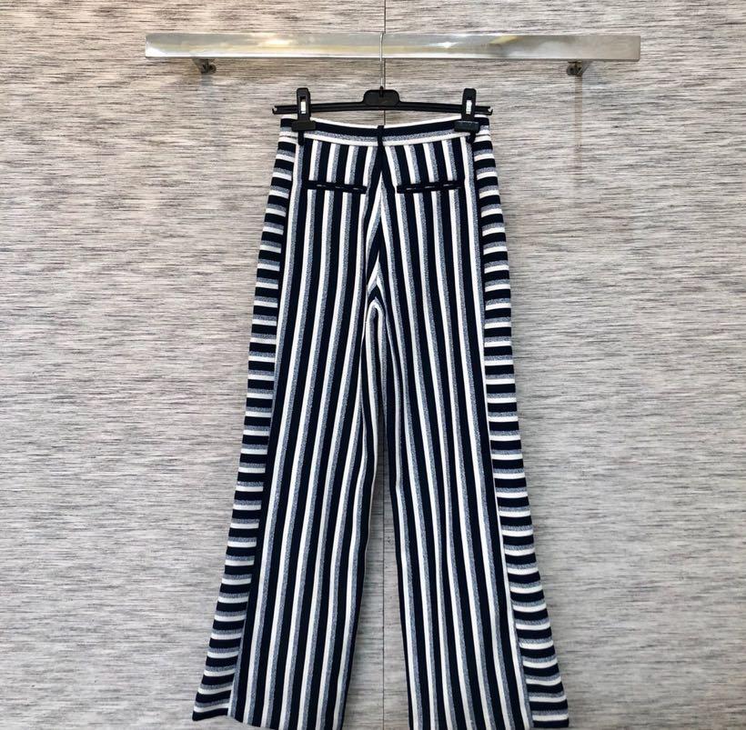 Mode Luxe Piste Femmes Vêtements Européenne Pantalon Partie De 2019 Ps01664 Style Design 4cIWYp