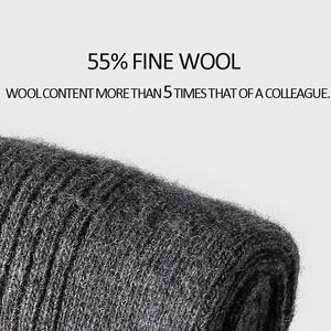 Image 2 - VVQI Winter mens wool socks warm floor socks export quality Brand socks business 4packslot black no box