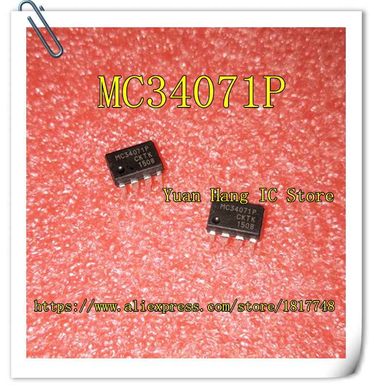 Free Shipping 10pcs  Direct MC34071P MC34071 single IC DIP-8 chip package free shipping 10pcs ssc9502 dip 15 lcd management chip in line package