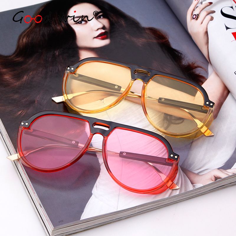 Good Win Steampunk Goggle Fashion Sunglasses Brand Women Men Summer Glasses Oversized Sun Glasses For Women Shades Men kacamata in Women 39 s Sunglasses from Apparel Accessories