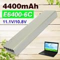 4400mAh Laptop Battery For dell Latitude E6400 M2400 E6410 E6510  E6500 M4400 M4500 M6400 M6500 1M215 312-0215 312-0748 312-0749