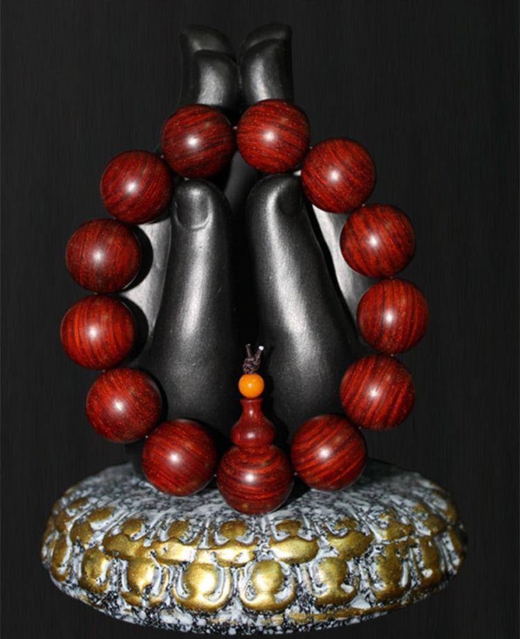 Kung Fu Sandalwood Buddha Beads Keeping In Good Health 108pcs multilayer sandalwood buddhist buddha prayer beads bracelet