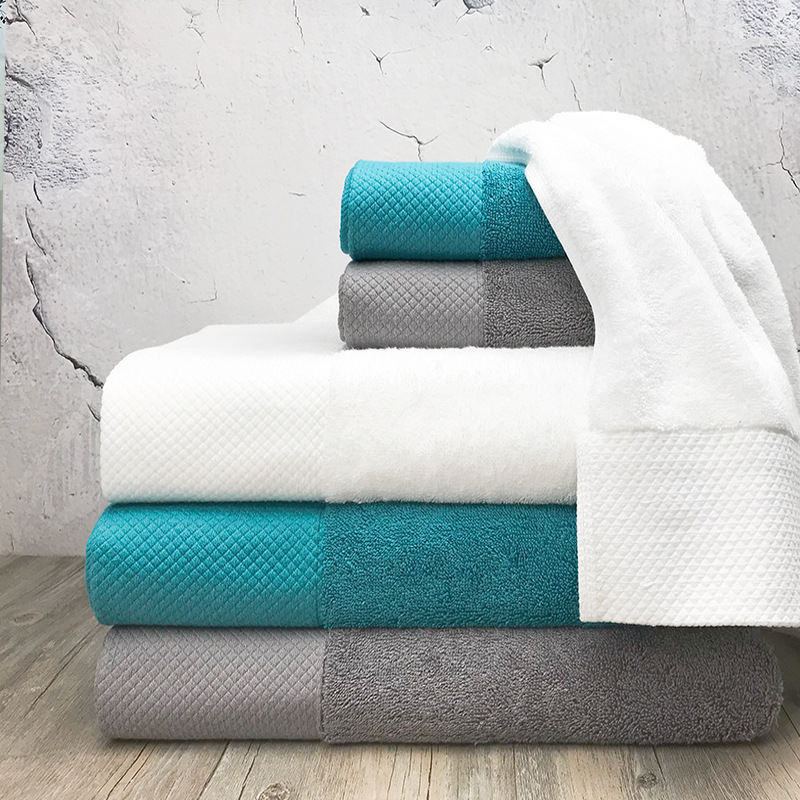 Face Towel Suppliers In Sri Lanka: Qulity Pure Color Cotton Towel Hotel Supplies For