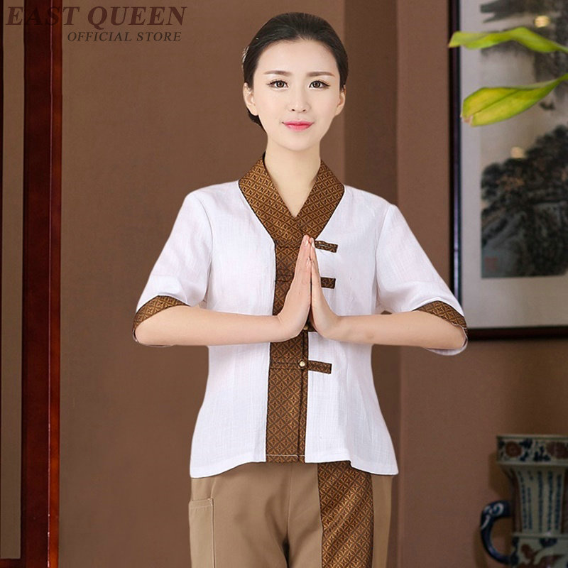 Medical Scrubs Spa Uniform Beauty Salon Beautician Massage Uniform Nurse Clinical Uniforms Woman Medical Clothing DD1307