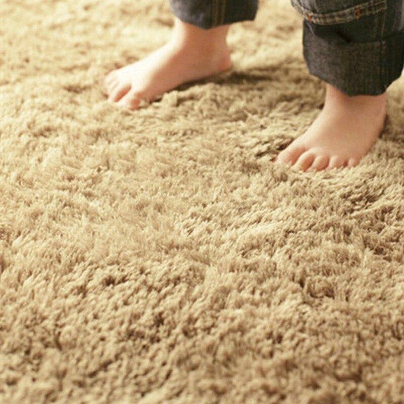 Maison textile salon tapis grande taille tapis long cheveux chambre tapis thé table tapis chambre tapis 140*200 cm tapis morden slip