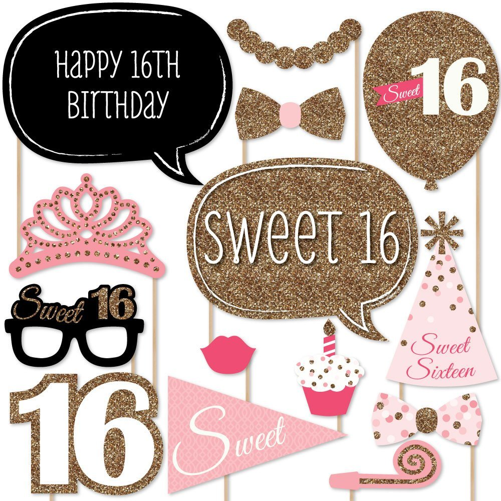 Online Get Cheap 16th Birthday Decorations Supplies Aliexpress
