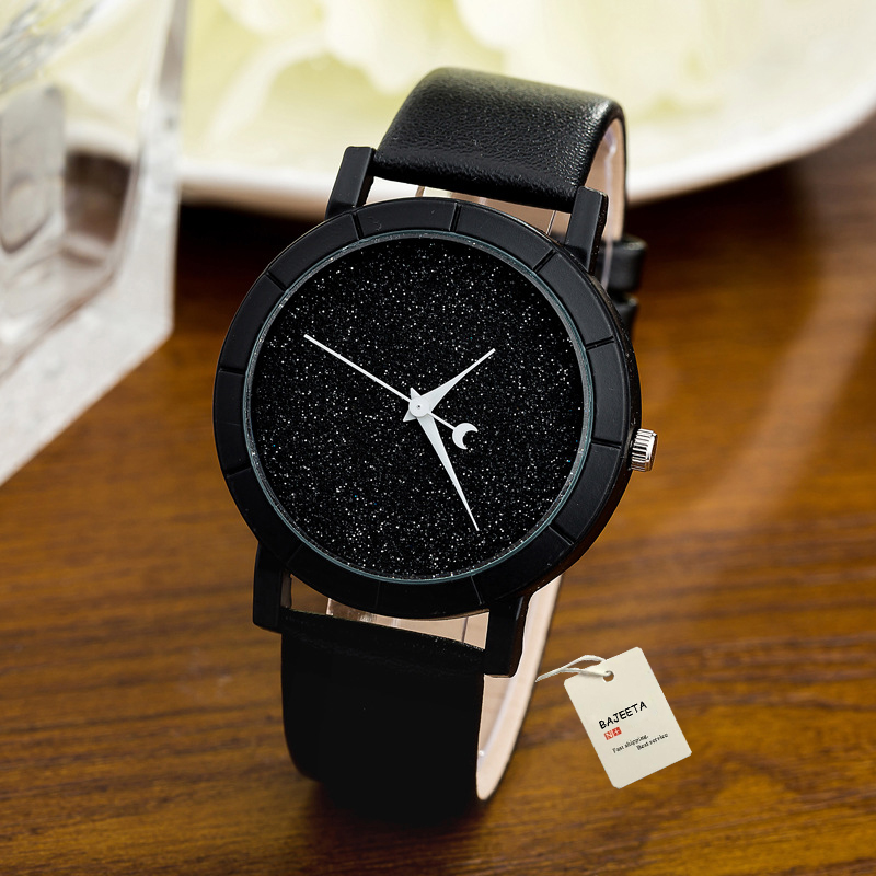 BAJEETA New Fashion Simple Style Women font b Watch b font Casual Quartz Leather Student font