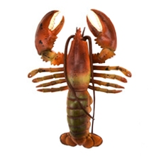 Realistic Solid Underwater World Animals Models Lifelike Large Size Lobster Children Cognitive Toys Marine Organism