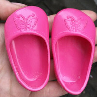 ZXZRed Butterfly Shoes Doll Shoes for 43cm Dolls Baby Birth Zapf Doll Accessories Doll Shoes for Girls Gifts x11
