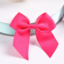 Free Shipping 500pcs/lot Christmas Christmas Pre-tied Grosgrain Gift Bowknot
