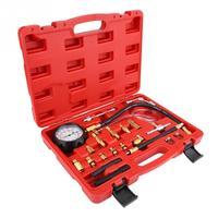 TU 114 Petrol Diesel Fuel Pressure Gauge Tester Fuel Injection Pump Diagnostic Tool Gauge Diagnostic Service Set Tools